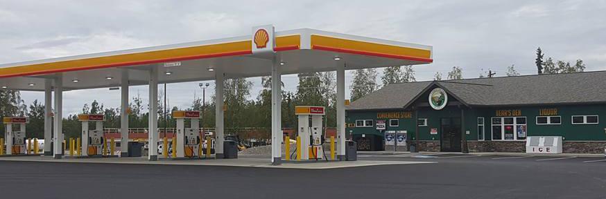 Big Lake Convenience Store Gas Station Liquor Pizza Three