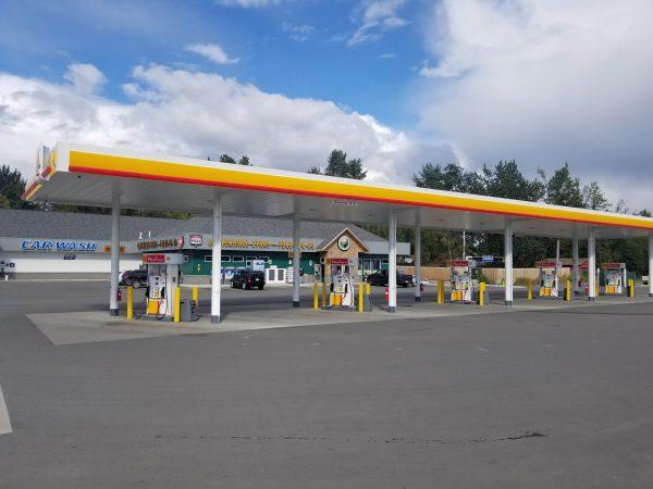 Three Bears Alaska Houston Shell Gas Station